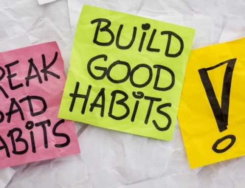 Good habits…..the free gift that keeps giving
